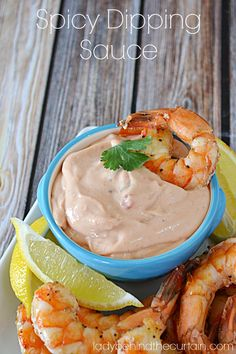 This spicy dipping sauce has just the right amount of heat and is perfect for dipping shrimp or using as a spread for a shrimp Po Boy sandwich. The shrimp