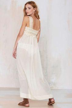 Vintage Amita Silk Dress - Dresses