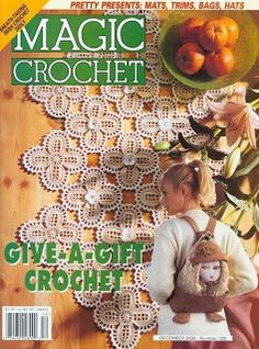 Magic Crochet No. 129; December 2000