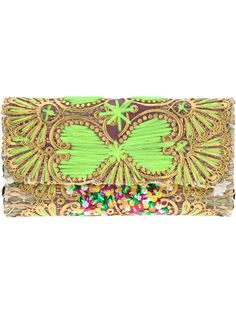 Laurence Hellerembroidered clutch