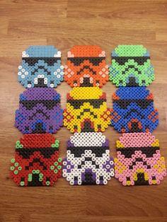 Stormtroopers perler beads by TommyValkonen on deviantart