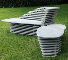 Get Out! Doble Paso Seating by Lucy Salamanca for Purapietra Photo