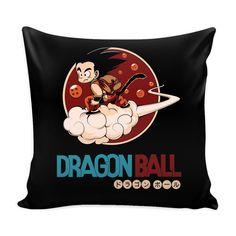 """Super Saiyan Goku Kid with Nimbus Pillow Cover 16"""" - TL00252PL"""