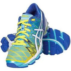 Gel-Kinsei 5 Run Shoe by Asics® - The ultimate Asics® running shoe for the neutral runner with an almost seamless FluidFit upper that gives you superior comfort and a great fit.