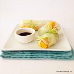 Rice Paper Rolls | fastPaleo Primal and Paleo Diet Recipes
