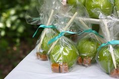 "caramel apple party favor - ""caramel apple kits"""
