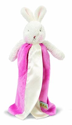 Bunnies By The Bay Bye Bye Buddy Blanket, Cherry (Discontinued by Manufacturer)
