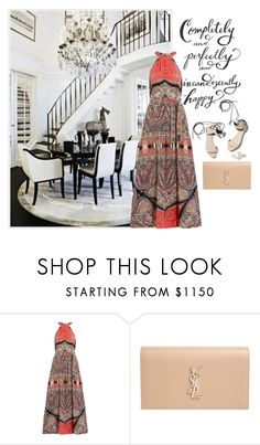 """""""Satisfied"""" by obsessedaboutstyle ❤ liked on Polyvore featuring Mrs Darcy, Etro, 3.1 Phillip Lim, Yves Saint Laurent and Belpearl"""