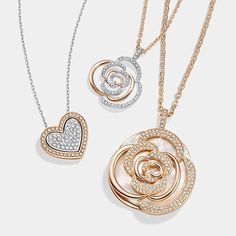 Let your jewelry be a love letter. Discover our Valentine's Collection with accessories that speak to your heart. #swarovski