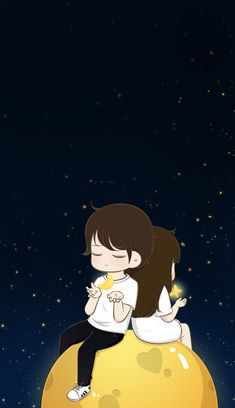 ♡hope♡'s cute love cartoon 😄😙❤🍃 images from the web Love Cartoon Couple, Cute Couple Art, Cute Couple Drawings, Anime Love Couple, Cute Anime Couples, Cute Drawings, Love Wallpaper Backgrounds, Cute Love Wallpapers, Cute Couple Wallpaper