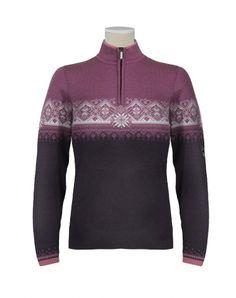 """Dale of Norway - """"St. Moritz"""" sweater in purple"""