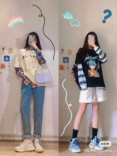 Korean Girl Fashion, Korean Fashion Trends, Korean Street Fashion, Ulzzang Fashion, Cute Fashion, Asian Fashion, Korea Fashion, 90s Fashion, Spring Fashion