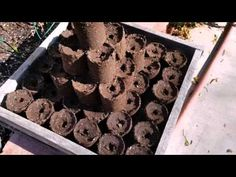 Homemade Soil Blocker Maker (free - DIY) - YouTube