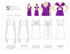 so this dress has the base of straps for support and then can twist and fold int. - so this dress has the base of straps for support and then can twist and fold into all these different ways. lots of colors too Source by insanewonderlan - Infinity Dress Ways To Wear, Infinity Dress Styles, Infinity Dress Bridesmaid, Bridesmaid Dresses, Prom Dresses, Infinity Dress Tutorial, Vestido Convertible, Multi Way Dress, Dress Tutorials