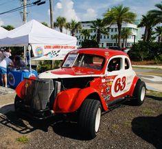 Nascar Racing, Auto Racing, Old Race Cars, Vintage Race Car, Car Makes, Dirt Track, Pickup Trucks, Motor Car, Hot Rods