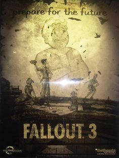 Fallout 3 poster.