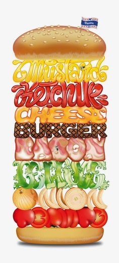 Burger hamburger cheesburger