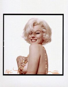 "Bert Stern - Marilyn Monroe one of ""The Last Sitting"" photos. 1962"