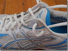 How to tie your shoes if you have ankle pain while running. Unbelievable how much this simple trick helps!