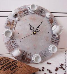 Часы для кухни приятного кофепития - часы,часы настенные,настенные часы