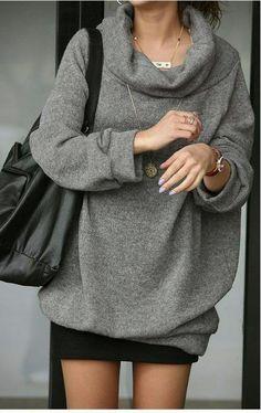 Lazy Sunday chunky sweater ❤️ cute