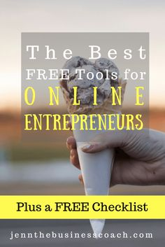 Starting a business shouldn't mean that you have to spend a ton of money, especially when there are free tools for online entrepreneurs that are available.