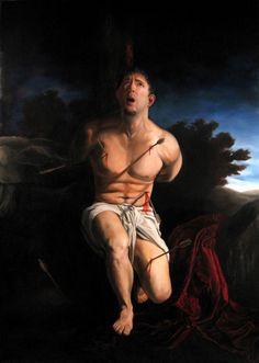 Self-Portrait As St. Sebastian