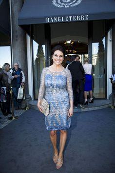 Jes Dorphs kæreste og tv-værtinde Louise Lehrmann.