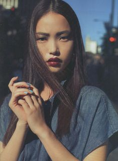 Seon Hwang photographed by Marissa Findlay and styled by Dan Ahwa for Fashion Quarterly Spring 2012