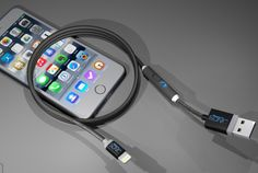 SONICable Smart Cable Lets You Charge Your Smartphone Twice As Fast - SONICable is the World's Most Advanced Charging Cable. It charges any device in just half the time of a regular USB cable. When the switch is OFF: Its like a normal USB cable, charge and sync. When the switch is ON: All of the power is wasted on charging, sync is disabled. | Geeky Gadgets