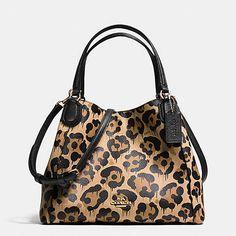 COACH Designer Purses | Edie Shoulder Bag 28 In Wild Beast Print Leather