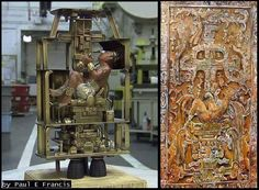 Pakal the Maya Astronaut (page - Pics about space Ancient Aliens, Aliens And Ufos, Ancient History, Ancient Artefacts, Ancient Civilizations, Maya, Out Of Place Artifacts, Ancient Astronaut Theory, Objets Antiques