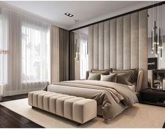 Awesome Luxury Modern Master Bedroom Design will Inspire You - home decor update Bedroom Furniture Design, Bedroom Decor, Home Room Design, Bedroom Bed Design, Modern Luxury Bedroom, Modern Bedroom, Luxurious Bedrooms, Modern Style Bedroom, Modern Master Bedroom Design