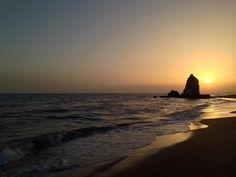 Atardecer en la Costa de la Luz (Huelva) / Sunset over Costa de la Luz (Huelva), by @rasl2000