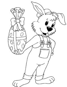 Easter Paintings, Crochet Jewelry Patterns, Yard Ornaments, Easter Bunny, Coloring Pages, Disney Characters, Fictional Characters, Snoopy, Halloween