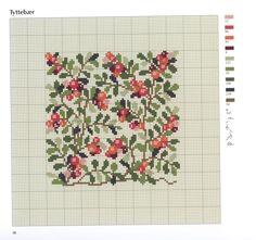 Gallery.ru / Фото #1 - Ingrid Plum-Bloomster blade og baer in Korssting - logopedd