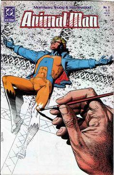 Animal Man #5 (Grant Morrison era) Grant Morrison graphic novel illustrator, digital design, MARVEL