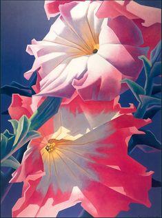 ed mell kK Art Floral, Amazing Paintings, Original Paintings, Impressionist Art, Impressionism, Ouvrages D'art, Art For Art Sake, Art Design, Graphic Design