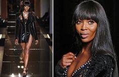 Alta Costura otoño-invierno 2013-2014: Atelier Versace NaomiCampbell #HauteCouture