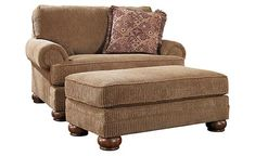 for the wall between kitchen/hall - not this fabric, but this style.  Richland - Amber Oversized Chair