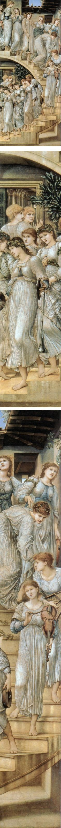 Eye Candy for Today: Burne-Jones' Golden Stairs