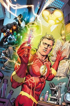 """Two new @MrHowardPorter covers for Flash #36 and #37 for the """"Cold Day in Hell"""" storyline in December. Colors by @hificolor."""