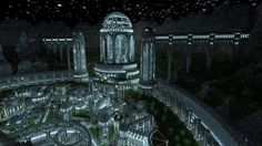 Minecraft - If two million blocks doesn't sound big enough for you, perhaps sixty million will? The boundaries were really pushed back by jamdelaney1, who spent three months creating the expansive city of Adamantis, which reaches up the side of a hill and is decorated with enormous doors, reflecting pools and vast colonnades. It's surely one of the prettiest builds the community has yet created.