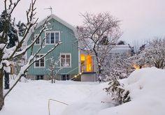 Aluminum house in Sweden