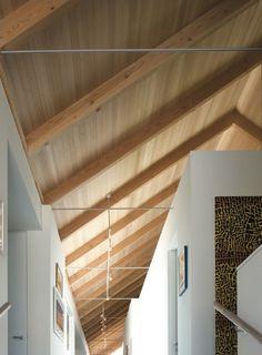 Techos de madera de acabado natural   #wood #madera #techos #design