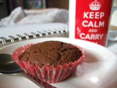 Nutella cupcakes - only three ingredients, and perfect with a mug of tea!