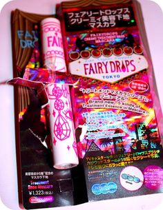 IN LOVE with FairyDrops mascara base! It looks awesome under my mascara and it smells like marshmallows! around $15 in Japan and they don't sell it at Sephora. Sad face.