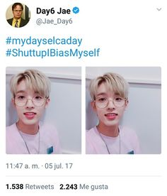 just Jae being. Funny Kpop Memes, Bts Memes, Day6 Jae Twitter, K Pop, Bad Songs, Jae Day6, Young K, Drama, Otters