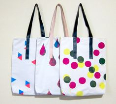 Screen Printed Tote Bags, Gemma Patford