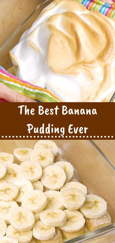 The Best Banana Pudding Ever - Dewi Sagita Popular Cookie Recipe, Best Cookie Recipes, Healthy Dessert Recipes, Easy Desserts, Healthy Food, Snack Recipes, Tasty Bread Recipe, Bread Recipes, Dessert Simple
